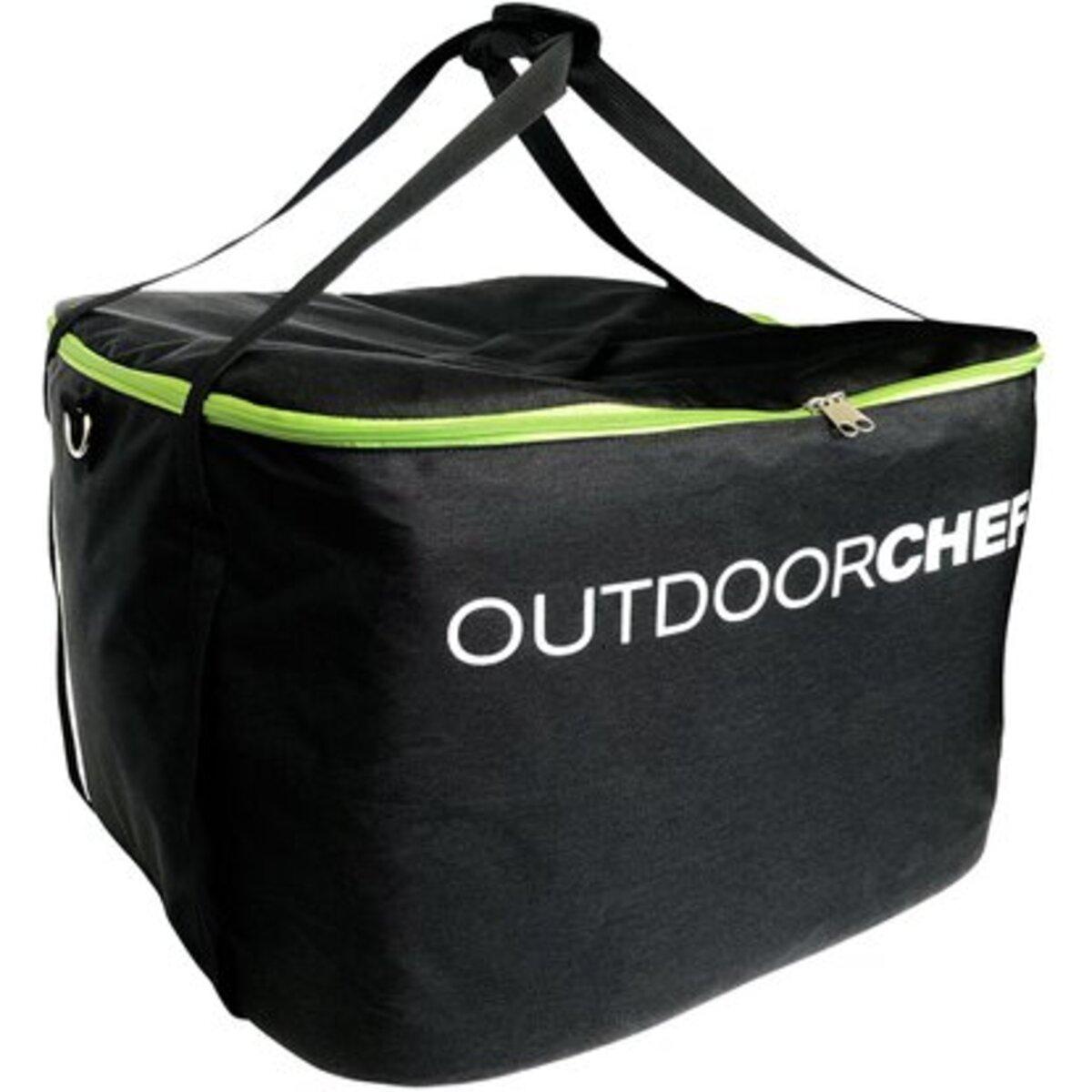 Bild 2 von Outdoorchef BUNDLE Camping Bag mit Gasgrill Chelsea 420 G Schwarz Ø 42 cm / 18.1