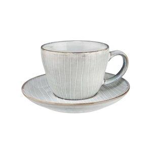 HENLEY 4x Kaffeetasse mit Untertasse 270ml