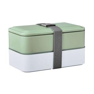 SNACK PACK Lunchbox inkl. Besteck L 19 x B 11cm