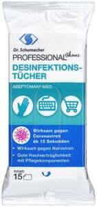Dr. Schumacher ASEPTOMAN® MED Desinfektionstücher