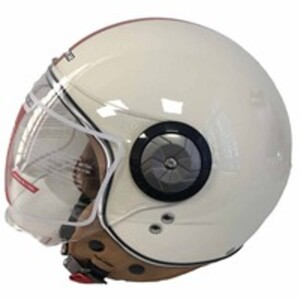 Explorer Jethelm KSR-B110BL, weiß, Größe L
