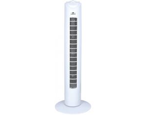Lentz Turmventilator 80043 weiß H. 81 cm