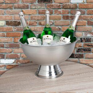 Edelstahl-Champagnerkühler 40,5x24,5cm