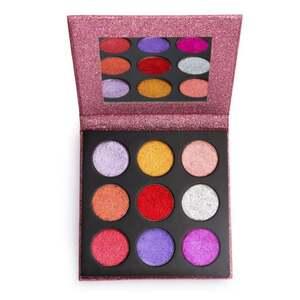 Makeup Revolution Pressed Glitter Palette Diva
