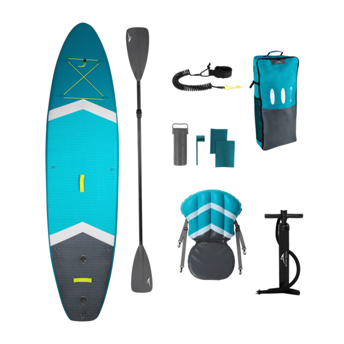 Bild 1 von ACTIVE TOUCH     Stand-up-Paddleboard-Set