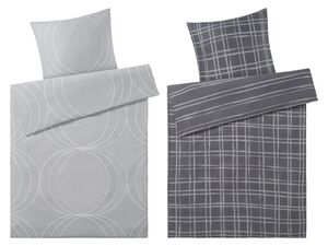 Mexx Home Renforcé Bettwäsche, 135 x 200 cm, mit Reißverschluss, aus reiner Baumwolle