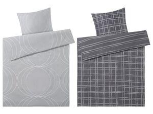 Mexx Home Renforcé Bettwäsche, 155 x 220 cm, mit Reißverschluss, aus reiner Baumwolle