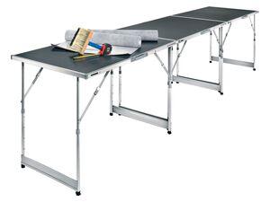 PARKSIDE® Multifunktionstisch, höhenverstellbar, mit 3 Tischelementen, Aluminium-Rahmen