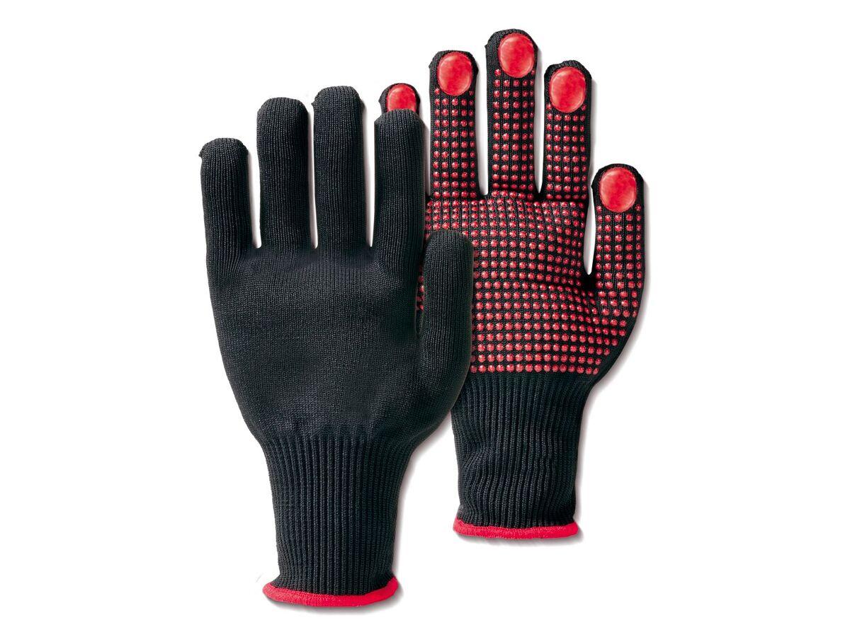 Bild 5 von PARKSIDE® Arbeitshandschuhe, 2 Paar, mit Anti-Rutsch-Noppen, elastischer Strickbund
