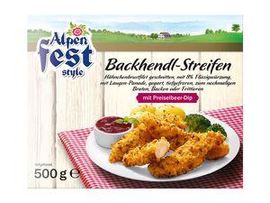 Backhendl-Streifen