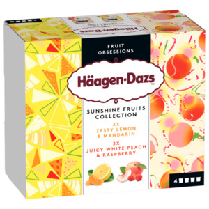 Häagen-Dazs Sunshine Fruits Collection 380ml