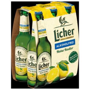 Licher Naturradler alkoholfrei 6x0,33l
