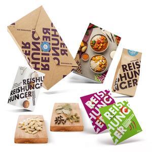 Reishunger Indian Curry Box 6-teilig für 4 Personen