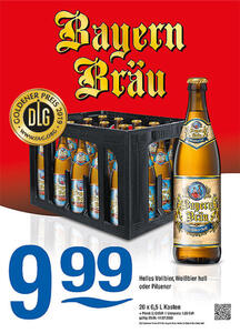 Bayern Bräu Helles Vollbier, Weißbier hell oder Pilsener