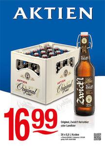 Aktien Original, Zwick'l Kellerbier oder Landbier