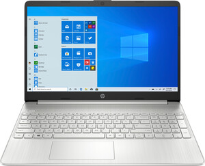 HP 15s-eq0654ng silber Notebook (15,6 Zoll FHD (matt), Ryzen 5 3500U, 16 GB RAM, 512 GB SSD, Radeon Vega, Fingerabdrucksensor, Windows 10 Home)