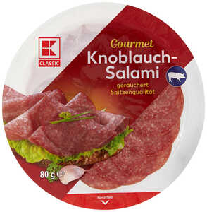 K-CLASSIC  Gourmet Knoblauch- oder Edel-Salami
