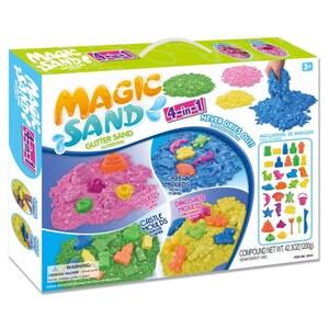 Magic Sand - 4 in 1 Glitzersand Set