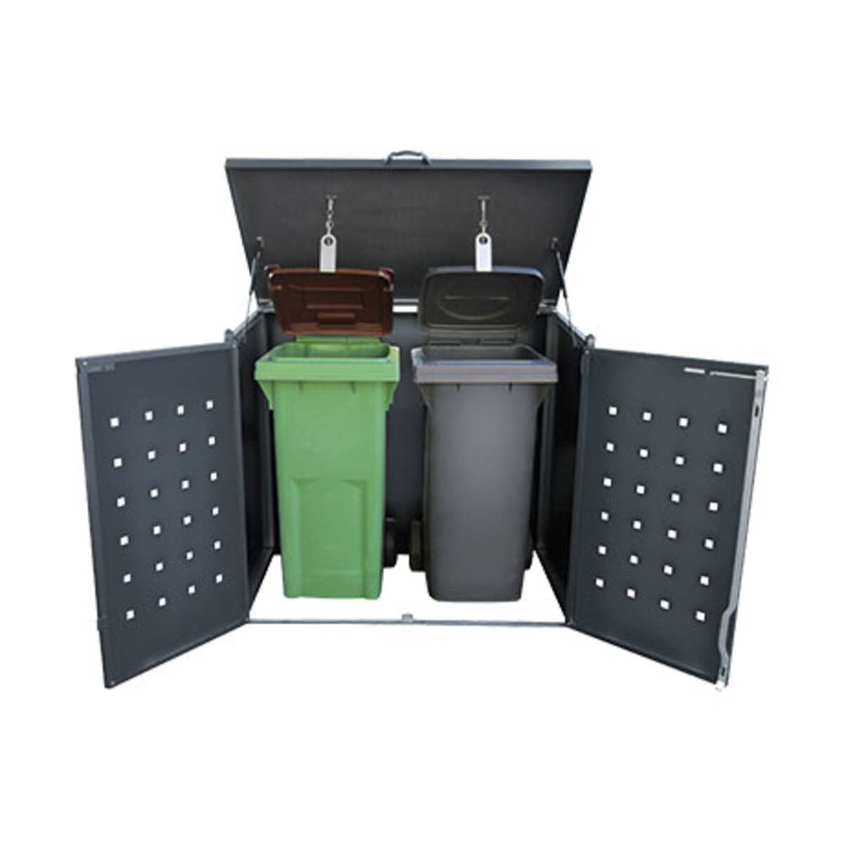 Bild 2 von Mülltonnenbox