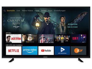 GRUNDIG 49 GUB 7060 - Fire TV Edition, UHD 4K Fernseher, 49 Zoll, Smart TV