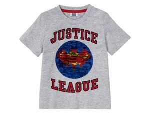 Kleinkinder T-Shirt Jungen, mit Paillettenmotiv, aus reiner Baumwolle