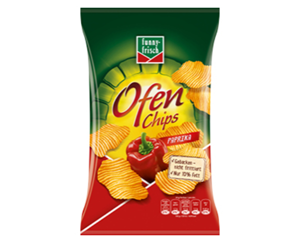 Ofen Chips Funny Frisch