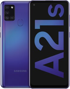 Galaxy A21s Smartphone blau
