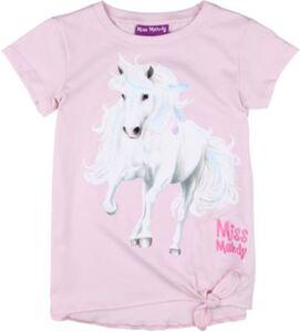 Miss Melody T-Shirt zum Knoten  rosa Gr. 104 Mädchen Kleinkinder