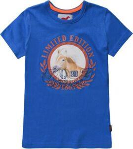 RED HORSE T-Shirt  blau Modell 2 Gr. 116 Mädchen Kleinkinder