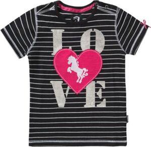 T-Shirt NOLA  schwarz Gr. 116 Mädchen Kinder