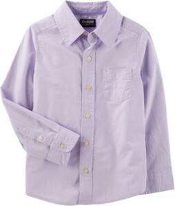 Langarmhemd mit Anker  lila Gr. 164 Jungen Kinder