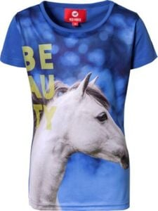 T-Shirt HORSY  blau Gr. 116 Mädchen Kinder