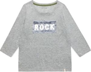 Langarmshirt mit Wendepailletten  grau Gr. 170/176 Mädchen Kinder
