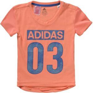 T-Shirt  koralle Gr. 110 Mädchen Kleinkinder