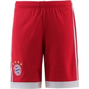 adidas FC Bayern 17/18 Heim Fußballshorts Kinder