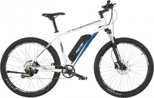 Fischer E-Bike MTB 27,5 Zoll 9-Gang Unisex, Montis 2.0-S1