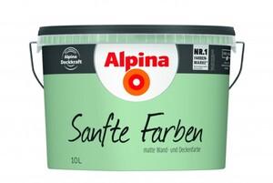 Alpina Sanfte Farben 10 l, lagune