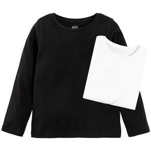 COOL CLUB Kinder Langarmshirt 2er Pack für Mädchen 146