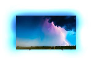 PHILIPS 65 OLED 754/12,  OLED TV, Silber