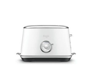 SAGE STA735SST4EEU1 Luxe Toast Select Toaster in Weiß/Silber