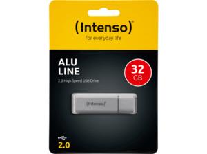 INTENSO Alu Line USB-Stick, Silber, 32 GB