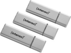 INTENSO 3521473 Tripplepack USB Stick, Silber, 16 GB