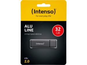 INTENSO Alu Line USB-Stick, Anthrazit, 32 GB