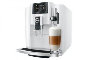 JURA Kaffeevollautomat E8 piano white