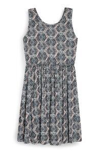 Jerseykleid mit Aztekenmuster (Teeny Girls)