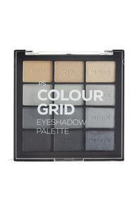 PS Pro Grautöne Colour Grid Lidschattenpalette