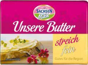 Sachsenmilch Unsere Butter streichfein