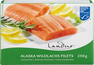 Landur Alaska-Wildlachsfilets