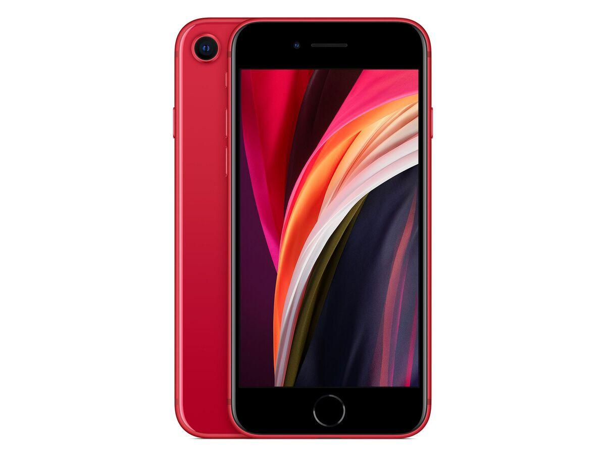 Bild 1 von Apple iPhone SE, 64 GB, (PRODUCT) Red