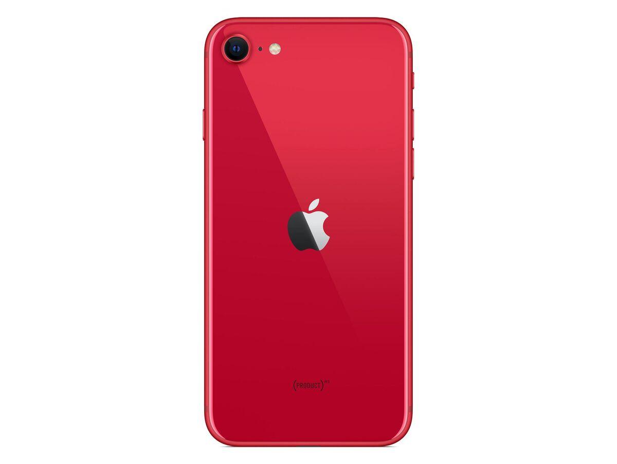 Bild 4 von Apple iPhone SE, 64 GB, (PRODUCT) Red